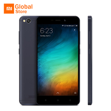 "Global ROM Original Xiaomi Redmi 4A 4 A 2GB 16GB ROM Mobile Phone 5.0"" 4G LTE Snapdragon 425 Quad Core Smartphone 3120mAh 13MP(China)"