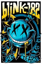 Y530L95 Custom blink 182 Canvas Painting Wall Silk Poster cloth print DIY Fabric Poster F#92