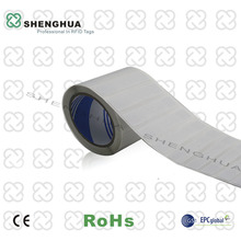 50pcs/pack Passive RFID Label Paper Roll Sicker 860-960MHz UHF RFID Tag for Clothing Real Time Inventory
