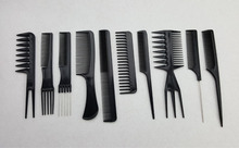 Buy Hair Comb Set Hairdressing Comb Brush Hairstyling Comb Brush Hair Salon Barbers Comb Set Kit GIC-HB518 (10pcs/lot) for $2.23 in AliExpress store