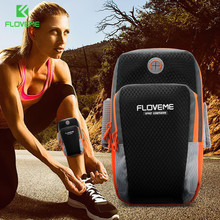 FLOVEME Universal Phone Bag Cases For iPhone 8 4S Sport Running Bag Arm Band For Samsung S8 For Xiaomi Redmi Note 4X Phone Pouch