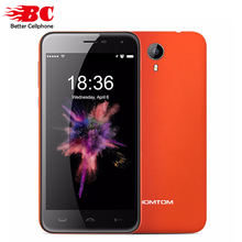 Original HOMTOM HT3 MTK6580 Quad Core1.3GHz Cell Phone 5.0'' Android 5.1 RAM 1GB ROM 8GB 3000mAh WCDMA 3G 1280*720p Smart phone(China)