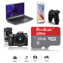 SHIP OUT WITHIN 48 Hours!!Pandisk Memory Card 16 gb Micro SD Card Microsd TF card sdhc 32gb pen drive flash card micro sd cartao(China)