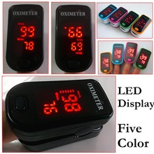 2016 Color LED Display  Design oxymetre pulsioxmetro Fingertip Pulse Oximeter Spo2  PR monitor  Blood Oxygen meter Monitor