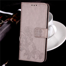 "Buy Luxury Clover PU Leather Case Elephone P8000 Case Flip 5.5"" Wallet Stand Cover Elephone P8000 Cover Phone Bag Capa for $3.99 in AliExpress store"
