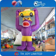 6-10m giant inflatable gorilla,large inflatable animals for outdoor advertise(China)