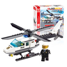 J306 New Arrival 102pcs Aircraft Airplane Model Building Blocks Plane Aeroplane DIY Educational Toys Kids Gifts Wholesale(China)