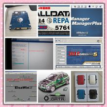 2017 Super Auto Repair Software Alldata 10.53 + Mitchell on demand 2015 + Manager plus +Vivid Workshop data full set 49in1tb hdd