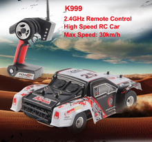 Buy High-speed 4CH 4WD 2.4GHz Brushed RC Car K999 Drift Remote Control Toys rc racing car remote control car toy child gift VS A979 for $72.80 in AliExpress store