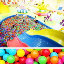 50 Pcs/Bag Fun Colorful Soft Swim Pool Ocean Ball Tent Ball Plastic Toys Balls Baby Kids Hot Selling Holiday Games P20(China)