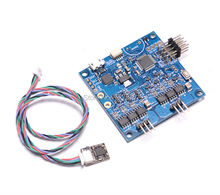BGC 3.12 MOS Large Current Two-axis Brushless Gimbal Controller Driver alexmos russian firmware(China)