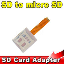 SD to Micro SD TF Card Reader Adapter FPC Extension Convertor Cable for Car DVD Mobile Phone Slot Support Up to 64G