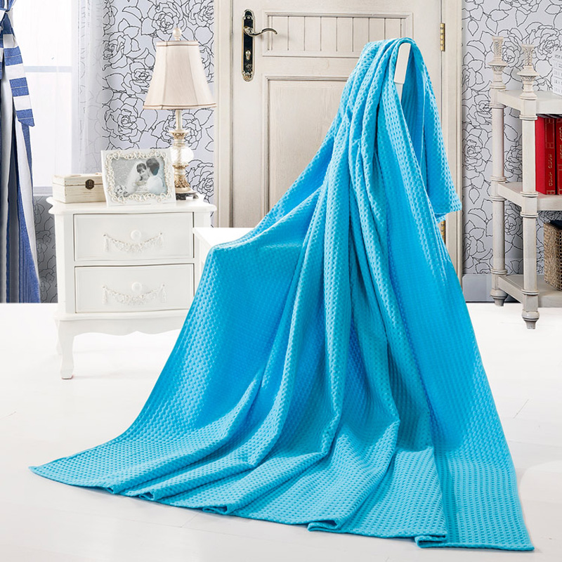 Multifunction plaids solid color Towel Blanket pure Cotton summer thin Throws,twin full size sofa towel or flat sheet<br><br>Aliexpress