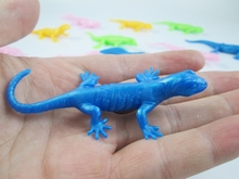5pcs/lot TPR Environmental simulation Lizard Gecko model  for kids learning prank toys
