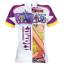 Women Cycling Jersey Anime One Piece Nico Robin Cycling Clothing Women Bike Sportwear Bicycle Short Sleeve Cycling Jersey X073(China)