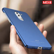Huawei GR5 2017 Case Luxury Full Body Hard Frosted PC Back Cover Case for Huawei Honor 6X thin Phone Bag Capa MSVII