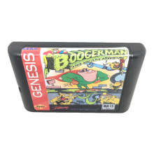 Boogerman A Pick And Flick Adventure for 16 bit игровая карточная игра картридж для Sega Mega Drive/Genesis System EUR/USA Shell(China)