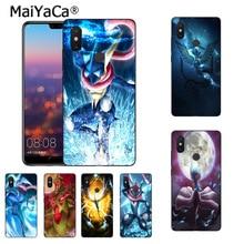 MaiYaCa Pokemons Go Gengar Sinister Nebula cover Phone Case Xiaomi Mi 6 Mix2 Mix2S Note3 8 8SE Redmi 5 5Plus Note4 4X Note5