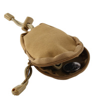 Mini Nylon Money Car Key Storage Bag Pouch Outdoor Military Purse Bag Pocket Chains Case Holder