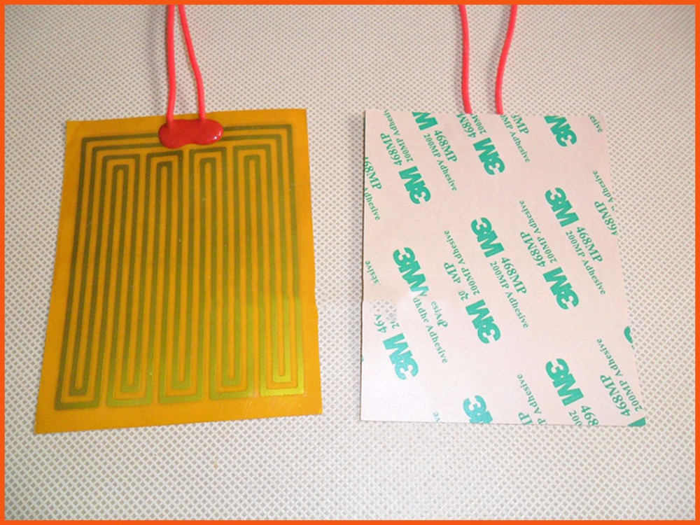 137x137mm 12V,10W,Polyimide electric film For Thermal coefficient Stable operating temperature optoelectronic components Heating<br>