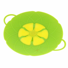 Cooking Tools Flower Petal Boil Spill Stopper Silicone Pot Lid Cover For Pan Cookware Parts Kitchen Accessories(China)