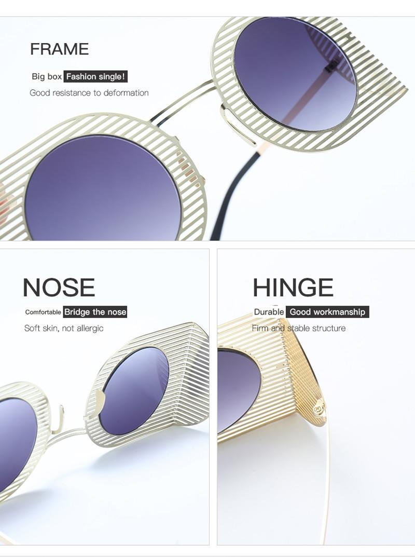 mens shield sunglasses women round black 7106 details (8)