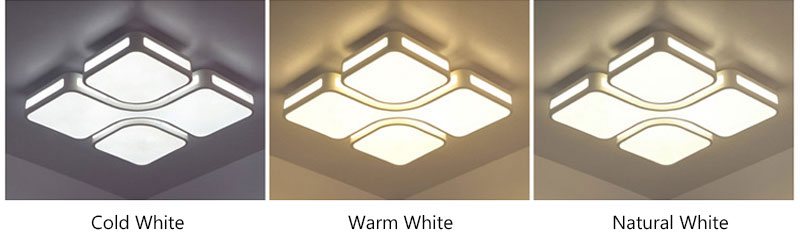 Modern Simple Acrylic LED Ceiling Lights Minimalist Rectangular Ceiling Lamp With Romote Control For Living Room Bedroom 220V (4)