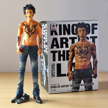 Good PVC Anime Death Surgeon King of Artist the Trafalgar Law Action Figure One Piece Model Toy Collections Gift 26cm