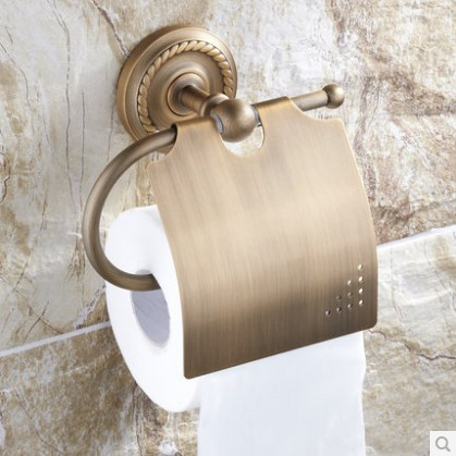 Antique Toilet Paper Holder OR Paper Towel Holder<br>