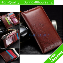 For iPhone 6 For iphone 6s Pattern Leather Case Universal Cell Phone Bag Holster Cover Pocket Wallet Pouch Case 4.0-4.8  4.8-5.8