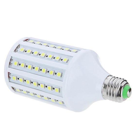 15W E27 102  leds 5050 SMD 1800LM 360 degree LED Corn Bulb Light Lamp 200-230V Warm White or White light LED Lamps Free Shipping<br><br>Aliexpress