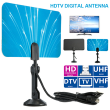 Digital Indoor HD TV antenna High Gain Ratio Full HD 1080P TV antenna VHF DVB-T Antenna Connector for DTV TV IEC connector(China)