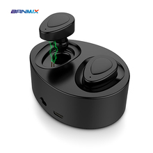 BANMIX B690 bluetooth earphone Mini 4.1 wireless Earbud Small Sports Cordless Hands free Headset For iphone 7 Xiaomi huawei(China)