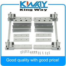 New Super Heavy Duty Universal Hidden Hinge Kit For 2 Doors