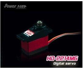 Register Free shipping!!100% orginal Power HD  2214MG metal digital servo for trex 250 450 500<br>