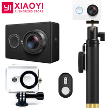Original Xiaomi YI Action Sports Camera Ambarella A7LS 155 Degree 1080P WiFi Action Cam 3D Noise Reduction International Edition
