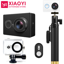 Original Xiaoyi YI Action Sports Camera Ambarella A7LS 155 Degree 1080P WiFi Action Cam 3D Noise Reduction International Edition(China)
