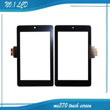 "Best Selling 7"" Touch Screen For ASUS Google Nexus 7 ME370 ME370T ME370TG Touch Diigitizer Outer Glass Tablet Replacement Parts"