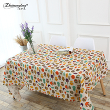 Zhuimenglong Party Table Cloth Waterproof Oilproof Toalhas De Mesa rectangle Tablecloth owl Printed Nappe Table Cover Overlay