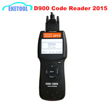 OBDII EOBD Universal D900 Code Reader OBD2 Scanner Version 2015 Latest CAN-BUS Live Data DTC OBD Check Engine Multi-Brand Cars