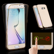 Mobile Phone Cover For Samsung Galaxy J3 J5 J7 2015 2016 J 3 5 7 Duos J500 J510 Case Silicon TPU Soft Transparent Full Casing