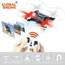 Global Drone Mini Drone GW009C-1 with HD Camera Quadcopter Altitude Holder RC Helicopter Drones Quadrocopter(China)