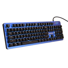 Brand Mantistek GK2 Mechanical Gaming Keyboard 104 Keys NKRO RGB Blue Red Black Brown Switch Computer Keyboard LED Backlit