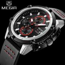 Buy MEGIR Top Brand Luxury Men Quartz Sport Watch Army Military Watches Chronograph Clock Men Creative Watch Relogio Masculino 2062 for $24.90 in AliExpress store