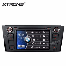 XTRONS 7 inch HD Digital Touch Screen Dual CANbus GPS Navigation Steering Wheel 1din Car DVD Player for BMW 1 Series E81 E82 E88