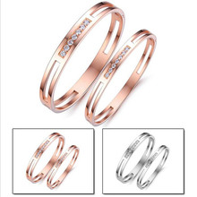 IP Rose Gold Plating Jewelry Fashion Steel Bangle Stainless  Steel Bangle Man Never Fade Do Not Change Colors Cheap AL1009