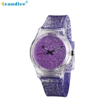 New Bright Watch Fashion Simple Girlfriend Watches Small Fresh Soft Girl Leisure Watch Creative Mar21