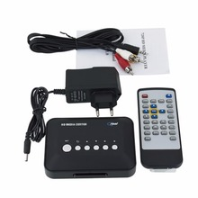 2016 Hot selling 720p Media Center RM/RMVB/AVI/MPEG HDD TV Player with USB and MMC PortPromotion