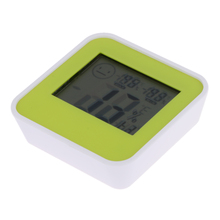 Mini Digital LCD Indoor Bath Kitchen Thermometer Hygrometer Home Humidity Temperature Meter Centigrade/Fahrenheit Display(China)