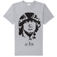rock n roll train ac dc MEN WOMEN UNISEX t shirt STREETWEAR(China)